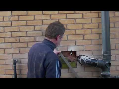 How to Repair damaged bricks on a house.m4v