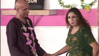 Best of Babu Braal and Abida Baig New Pakistani Stage Drama Full Comedy Clip