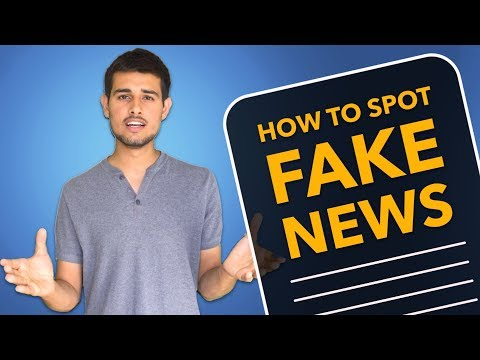 How to identify Fake News in India | By Dhruv Rathee