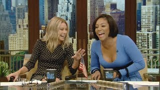 Tiffany Haddish Co-Hosted with Kelly for the Day