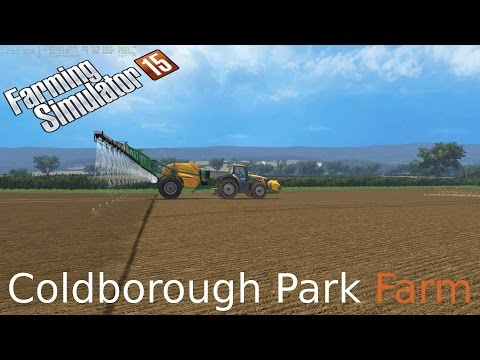 Farming Simulator 15 on Coldborough  seed and fertilizer and clean up