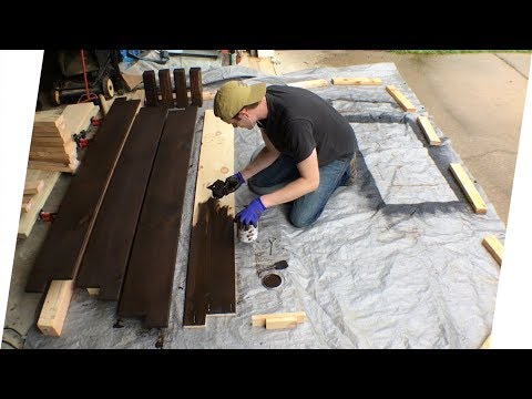 King-Size Bed Frame Build