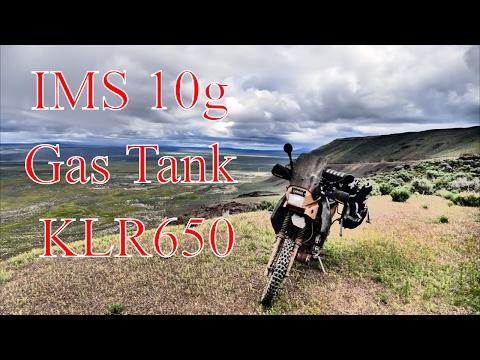 IMS 10gal Gas Tank- KLR650 ADV