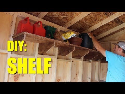 Shelf For My Shed