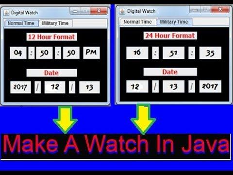 Java Programming 2017   Make a Digital Clock #3