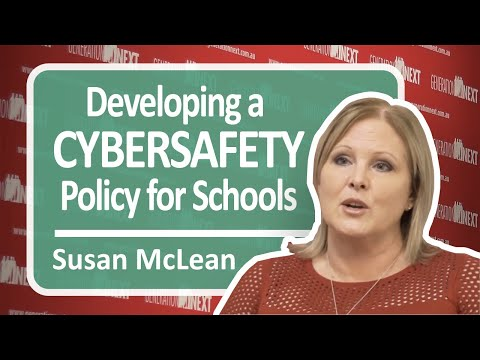 Developing a Cybersafety Policy for Schools