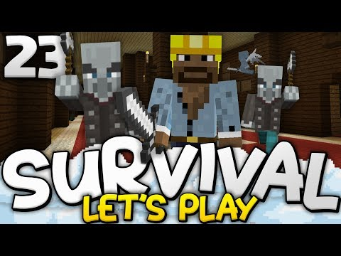 CONQUERING THE WOODLAND MANSION!!! - Survival Let's Play Ep. 23 - Minecraft Bedrock (PE W10 XB1)