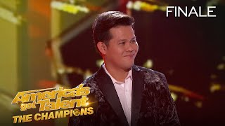 Marcelito Pomoy Takes 4th Place On Champions - America's Got Talent: The Champions
