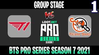 T1 vs Team SMG Game 1   Bo2   Group Stage BTS Pro Series SEA Season 7   DOTA 2 LIVE