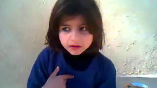 Challenge to Malala Yousafzai by another little girl. Very funny
