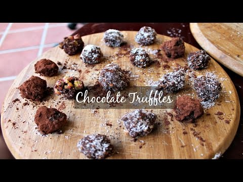 Easy Chocolate Truffles | Cooking with Kids