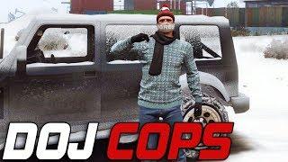 Dept. of Justice Cops #367 - Winter Wonderland (Criminal)