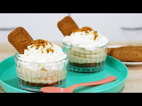 How to Make Biscoff Cheesecakes!