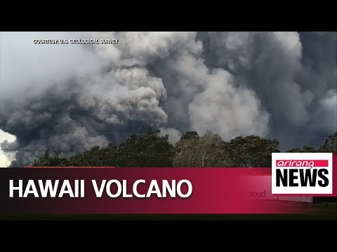 Hawaii's Kilauea volcano erupts with nine-kilometer-high ash cloud