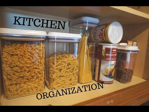 Kitchen Organization Haul   Home Goods & The Container Store   How I Organize