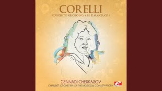 Concerto Grosso No 4 In D Major Op 6 Iii Vivace