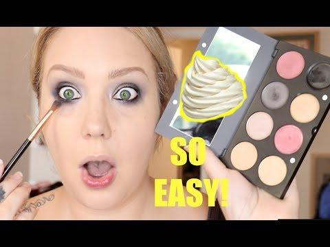 Full Face of CREAM MAKEUP! 🌍 World Organics | Jade Madden