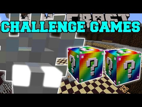 Minecraft: OMEGAFISH CHALLENGE GAMES - Lucky Block Mod - Modded Mini-Game