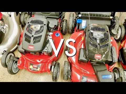 TORO's Super Recycler VS. Regular Mower