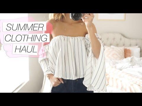 Fashion Nova Summer Clothing Haul | LeSassafras