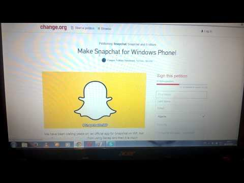 How To Get Snapchat On Windows Phone