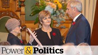 Blaine Higgs sworn in as New Brunswick premier   Power & Politics