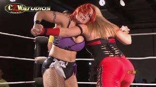 [FREE MATCH] Kimber Lee & Lufisto vs. Jessicka Havok & Nevaeh   CZWstudios.com   Women's Wrestling