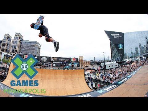 FULL BROADCAST: Fruit of the Loom Skateboard Vert Final | X Games Minneapolis 2017