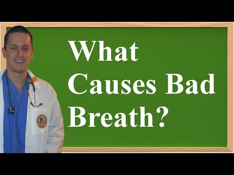 What Causes Bad Breath? (Halitosis)
