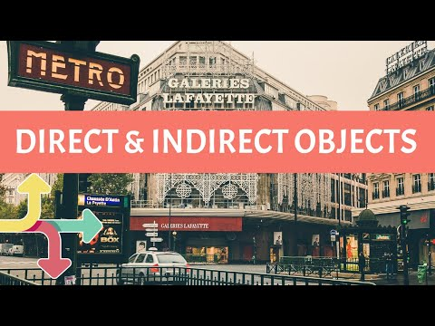 French Direct and Indirect Object Pronouns [Day 24]