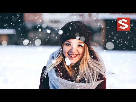 Photoshop tutorial Making Parallax with snow effect | Sopheap Design