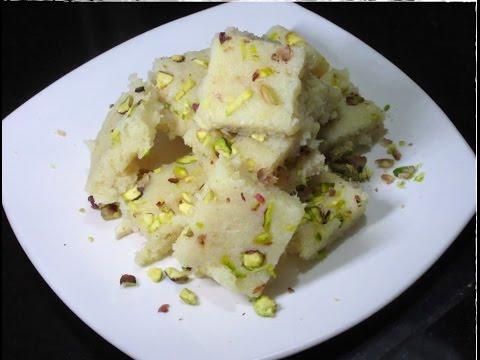Instant Coconut Barfi Recipe with Condensed Milk || Fast (vrat) Sweet || नारियल की बर्फी