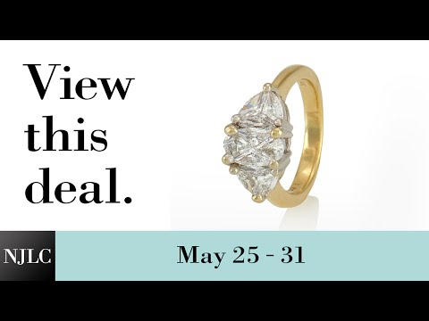 Deal of the Week: Past, Present & Future Ladies Cluster Ring