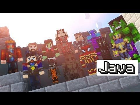 The Avengers: Infinity War in Minecraft