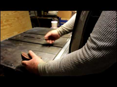 Cleaning the table saw plus more BS about sail boats