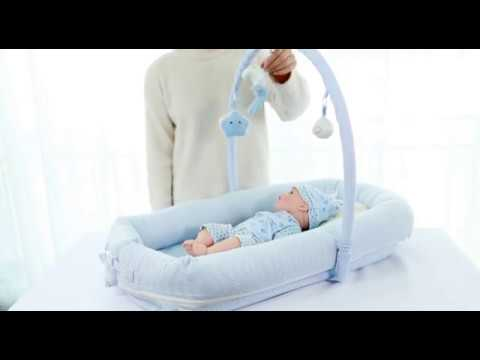 Sunveno Baby Co-Sleeping Bed with pillow & quilt