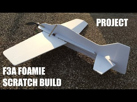 3D F3A Foam Flyer - Scratch Build - PROJECT