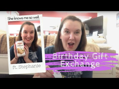 30th Birthday Gift Exchange ft. Stephanie Kneese