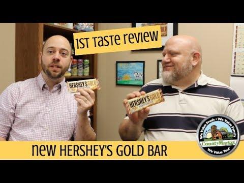 Hershey's Gold Bar: 1st Taste Review