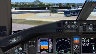 PMDG Boeng 737 NGX EPKT-EDDF With Radar Contact 4 - PakVim