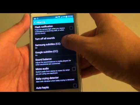 Samsung Galaxy S5: How to Change Samsung Subtitle Caption Font Style