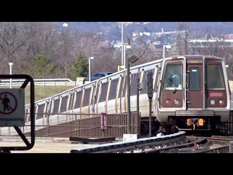 The Subway System in Washington DC, USA 2018