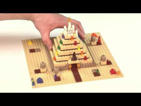 LEGO Games Ramses Pyramid (Behind the Scenes)