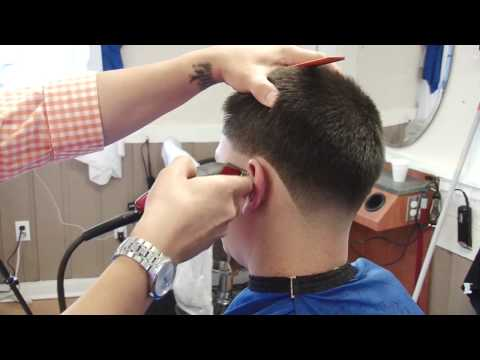 step by step  skin taper fade haircut | shadow fade tutorial by HOV the barber