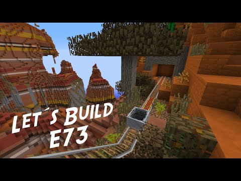 Minecraft Let's Build (Creative Mode) E73 - Minecart Oase (IkBenJeGame)
