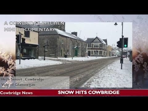 Snow & Freezing Blizzards Hit South Wales and Cowbridge