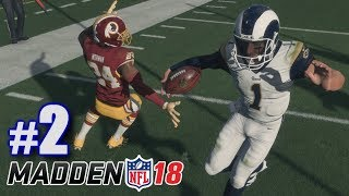 SNAPPING OFF ANKLES! | Madden 18 | Career Mode #2