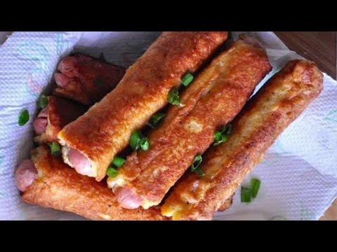 Easy Bread Sausage Roll | Kids Snack Recipe | RecipesAreSimple