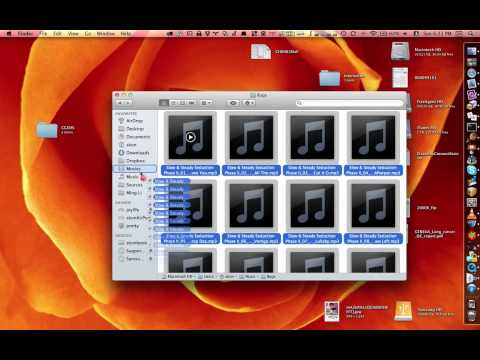 Drag & Drop in OS X Lion