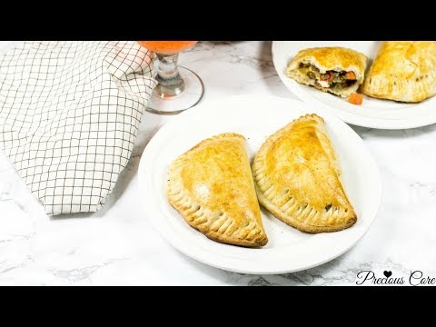 Nigerian Meat Pie Recipe - Cameroonian Meat Pie - African Meat Pie - Precious Kitchen - Ep 47